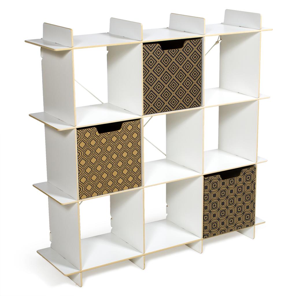 9 large cube storage bookcase lyla mae kids storage bins kids storage cubby storage. Black Bedroom Furniture Sets. Home Design Ideas