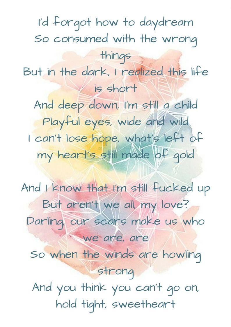 Ok Go The Writing S On The Wall Lyrics Rainbow Kesha Kesha Quotes Inspirational Quotes Rainbow Quote
