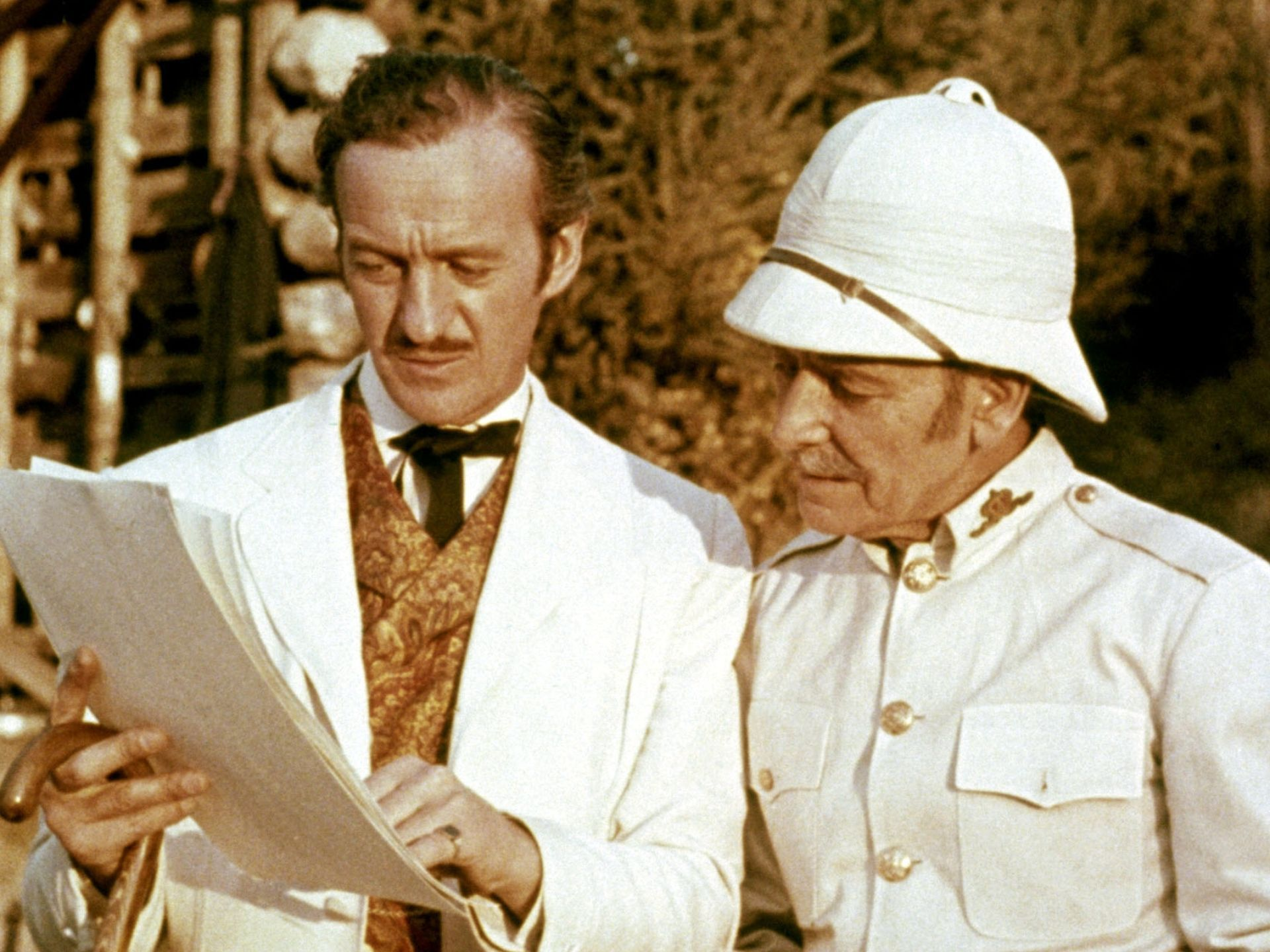 1956 Around The World In 80 Days David Niven Left And