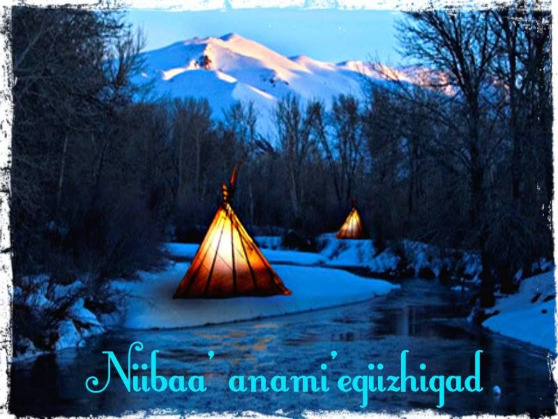 meaning merry christmas in ojibwe chippewa
