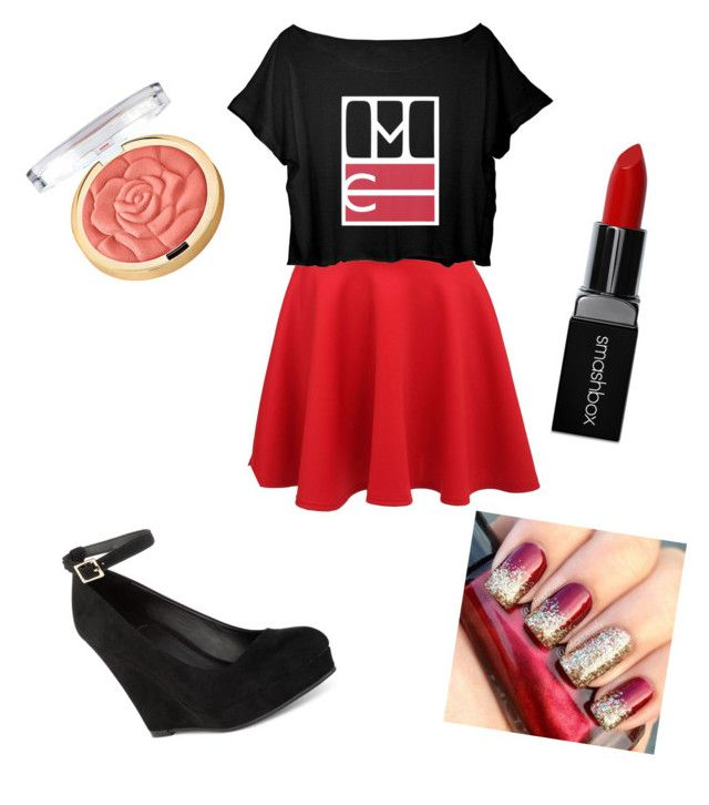 """""""Random"""" by queen1997nat on Polyvore featuring Pilot, Material Girl, Smashbox and Milani"""
