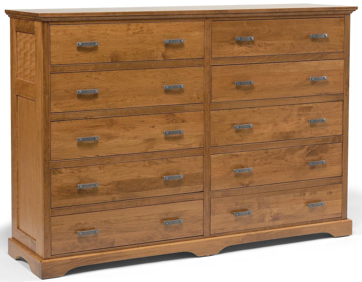 10 Drawer Double Dresser Modern Dresser Dresser Dresser Drawers