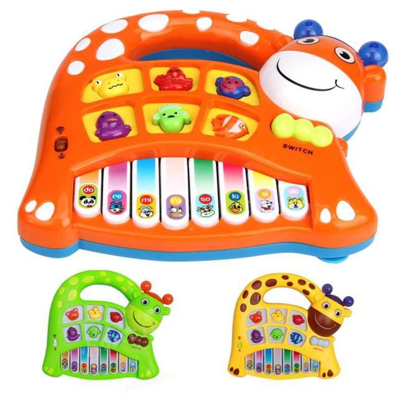 Baby Kids Musical Toy Educational Animal Farm Piano Developmental