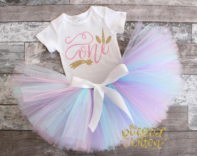 Azul Colorido nube de arco iris Bebé Niños 1st Cumpleaños Pastel Smash Traje//Prop