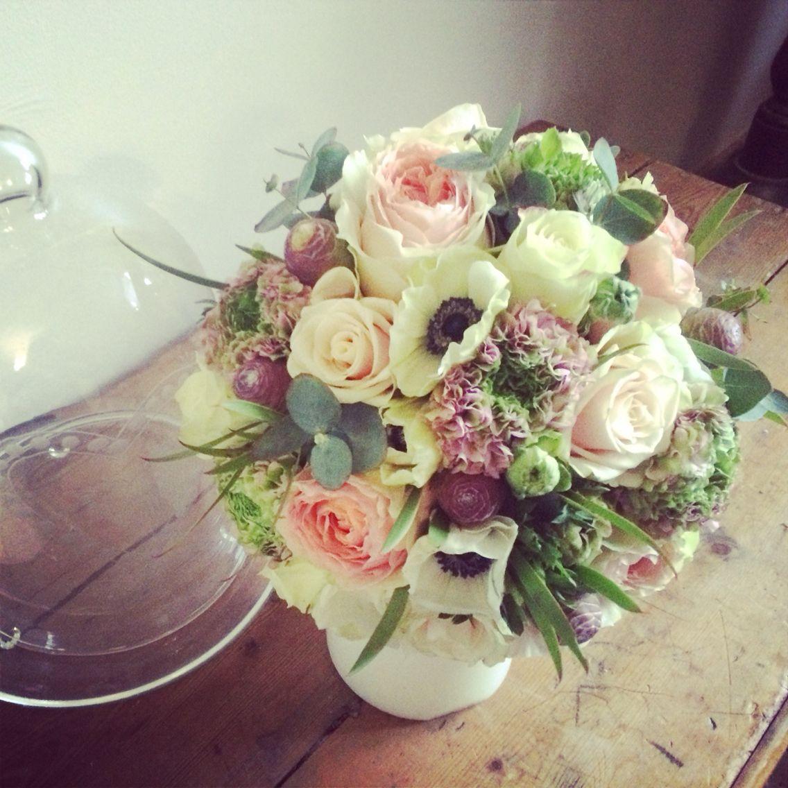 """Bouquet de mariée vintage par """"rose pivoine by Marilyn"""""""
