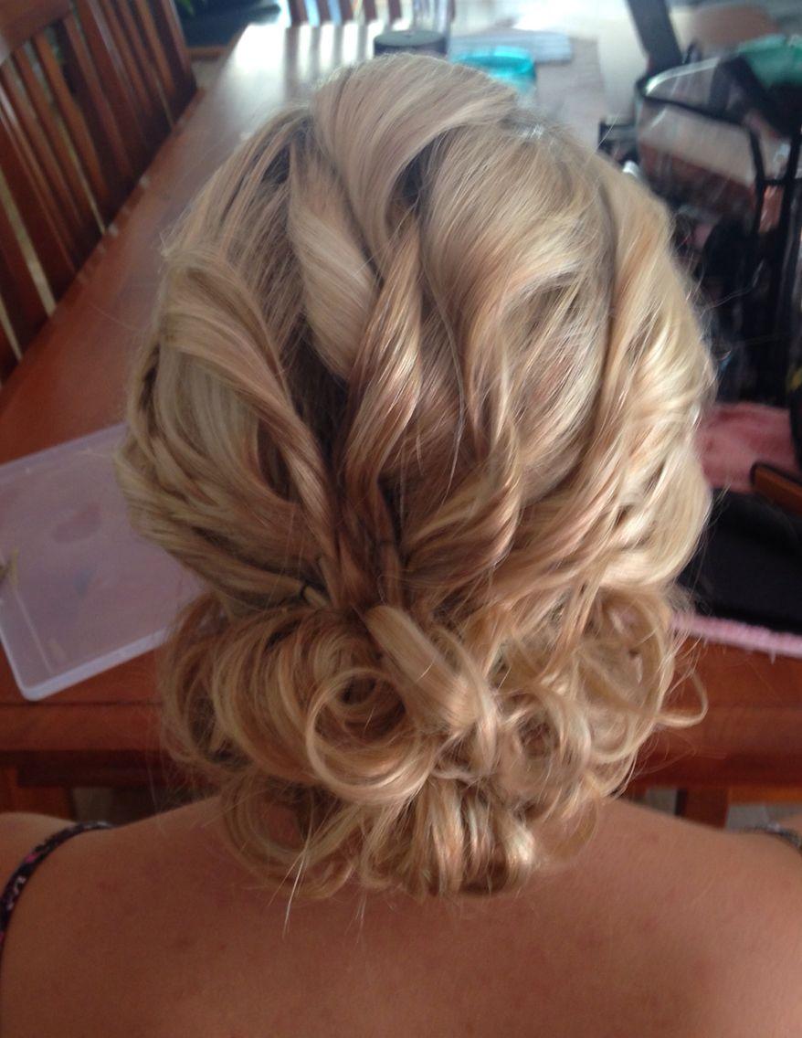 Formal hair by suzie real school formal girls pinterest formal