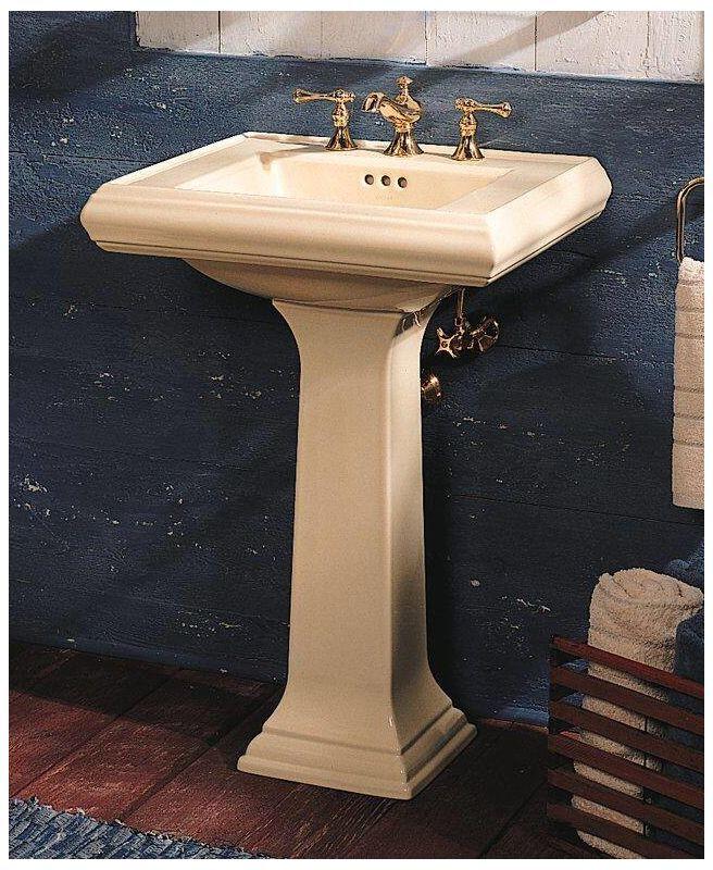 Kohler K 2238 4 In 2019 Pedestal Sink Downstairs Bathroom