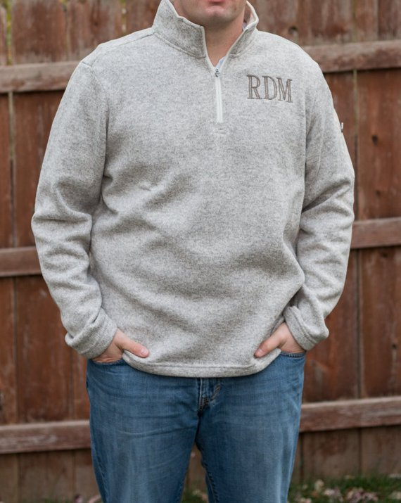 Monogram Men's Sweater | Mens Monogram Sweater | Mens
