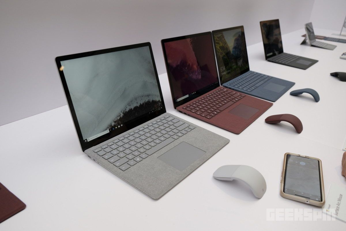 Microsoft S New Surfaces Look Great In Black