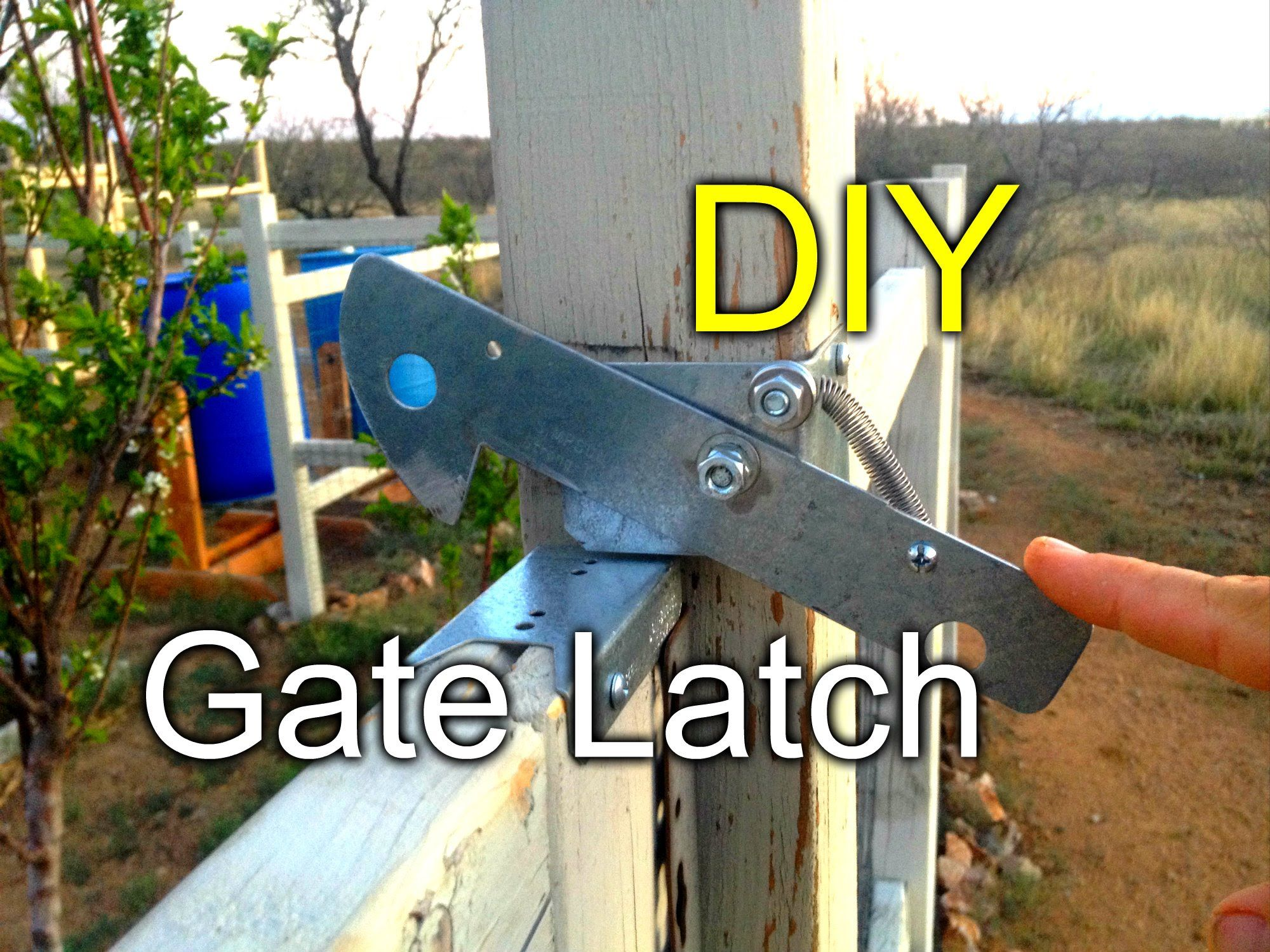 Diy Gate Latch For My Garden Fence Diy Gate Gate Latch Diy