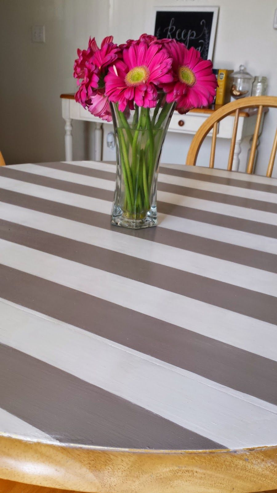Tied Ribbon: Dining Room Table Re-Do