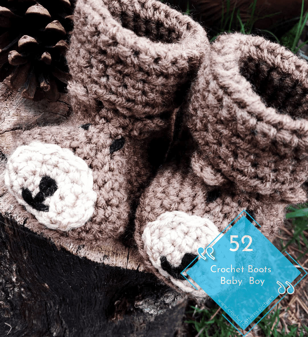 Photo of 52 Crochet Boots With Modern Patterns For Baby Boys. Advice Model: 36