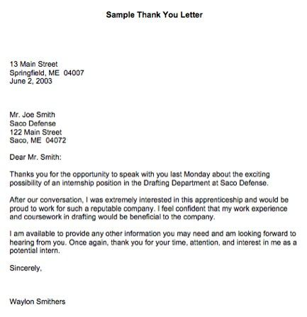 professional thank you letter Google Search – Professional Thank You Letter