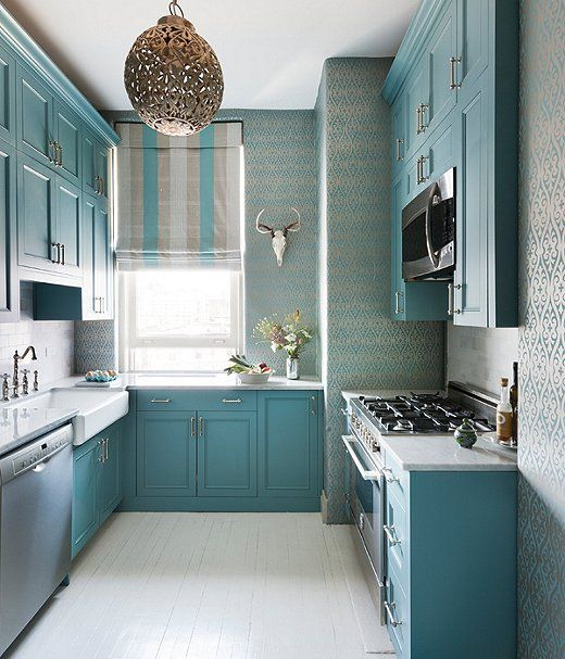 Kitchen Renovation Apartment Therapy: We're Currently Loving: Coastal Blue Rooms