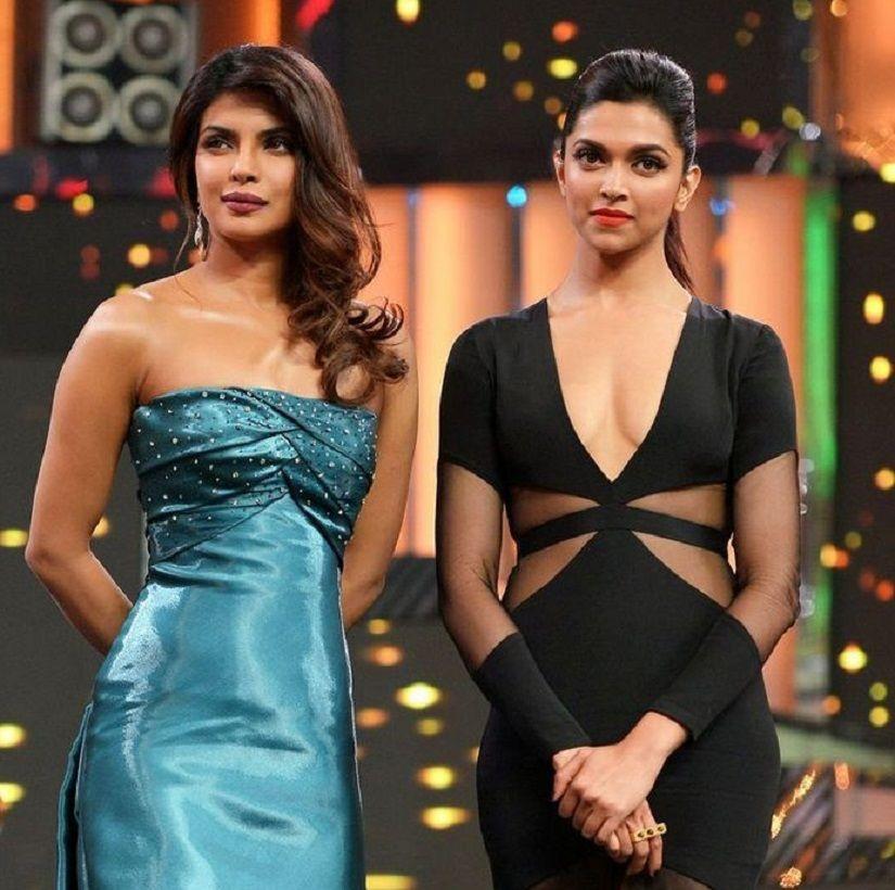 Priyanka Chopra With Deepika Padukone Priyanka Chopra Deepika Padukone Women