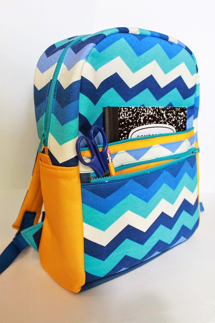 The Annual Backpack, 2014   Stofftaschen, Taschen nähen und Nähen