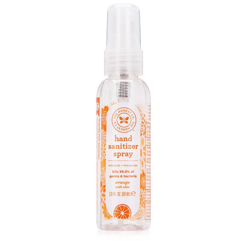 Honest Company Hand Sanitizer Spray Coastal Surf 2oz Hand