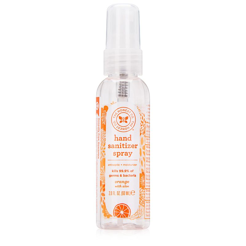 The Honest Company Hand Sanitizer Spray Orange Honest Baby