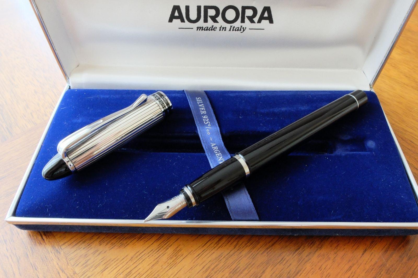 Waterman Hemisphere Steel Fountain Pen M Gold Trim Personalised ENGRAVED Gift