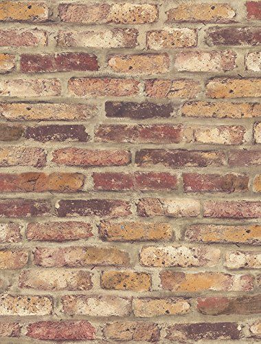 Nextwall Faux Rustic Red Brick Peel And Stick Wallpaper N Https Www Amazon Com Dp B0789slfdc Ref Cm Faux Brick Wallpaper Faux Brick Walls Brick Wallpaper