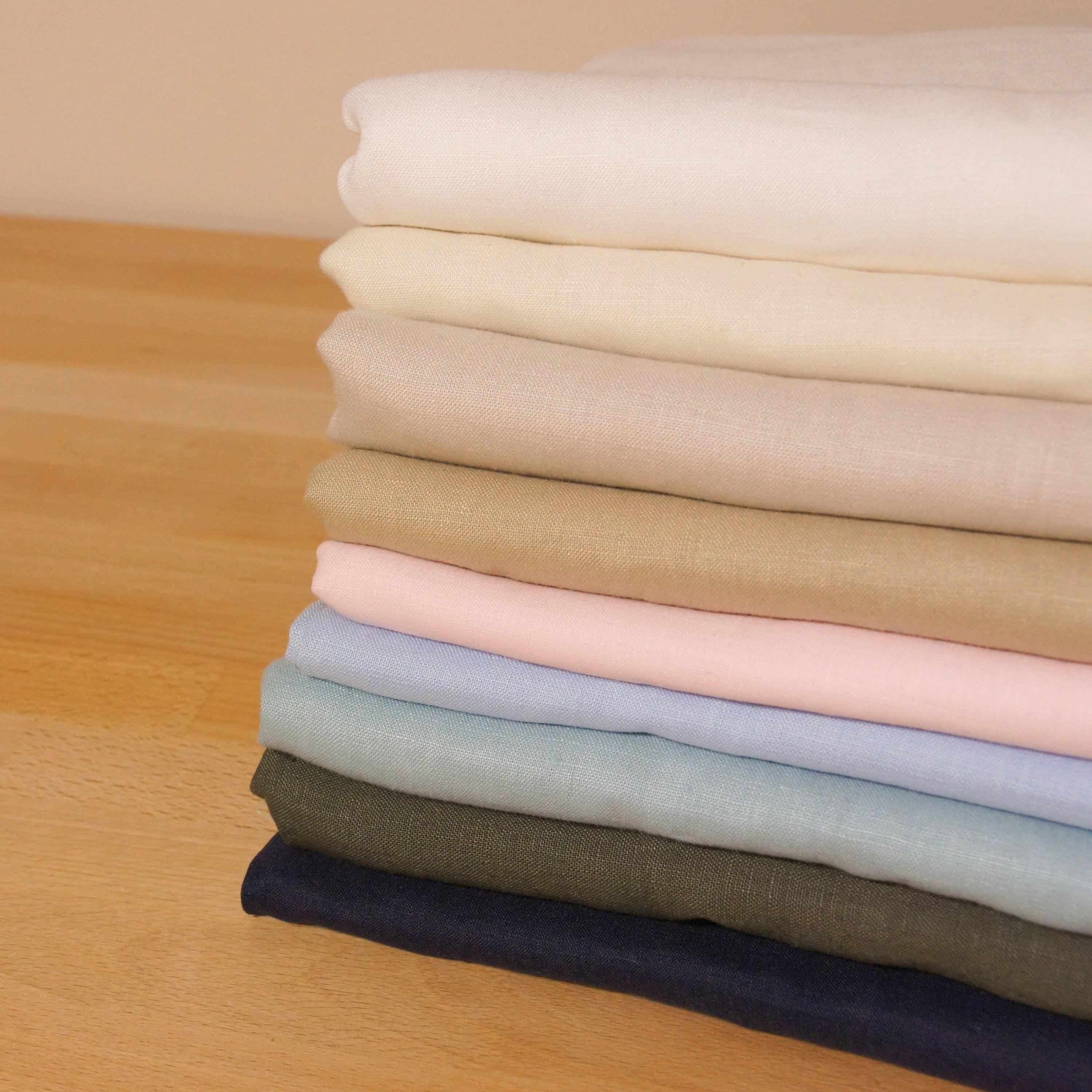 Pure Linen Fabric By 1 2 Metre 100 Linen Fabric Natural Linen Fabric Blue Linen Fabric Pink Linen Medium Weight Linen Apparel Fabric Luxury Fabrics Fabric Dressmaking
