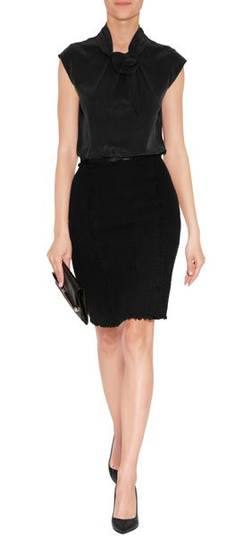 Steffen Schraut black skirt