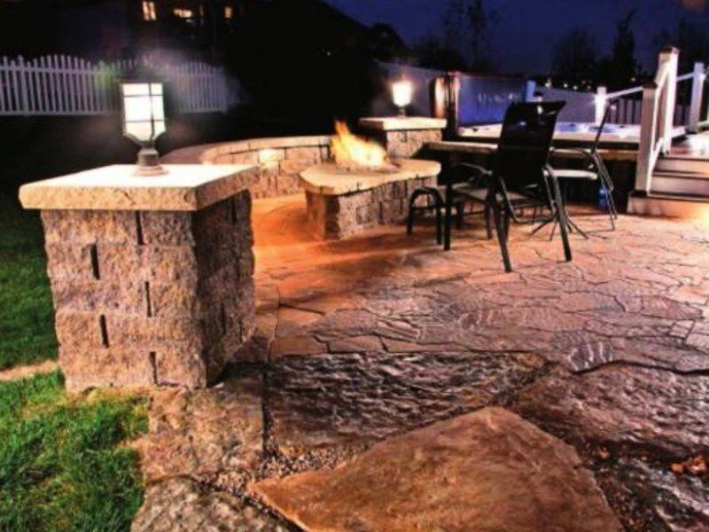 patio lighting backyard lighting