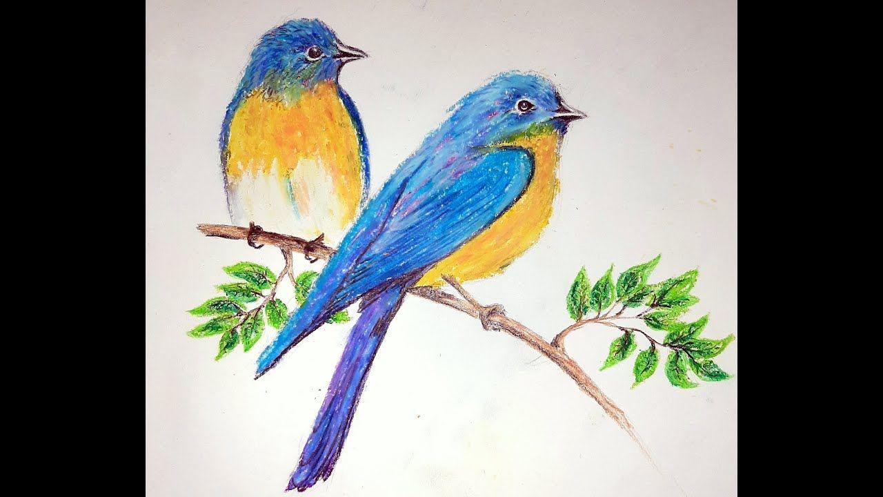 Two Birds In Spring In 2020 Two Birds Birds Little Birds