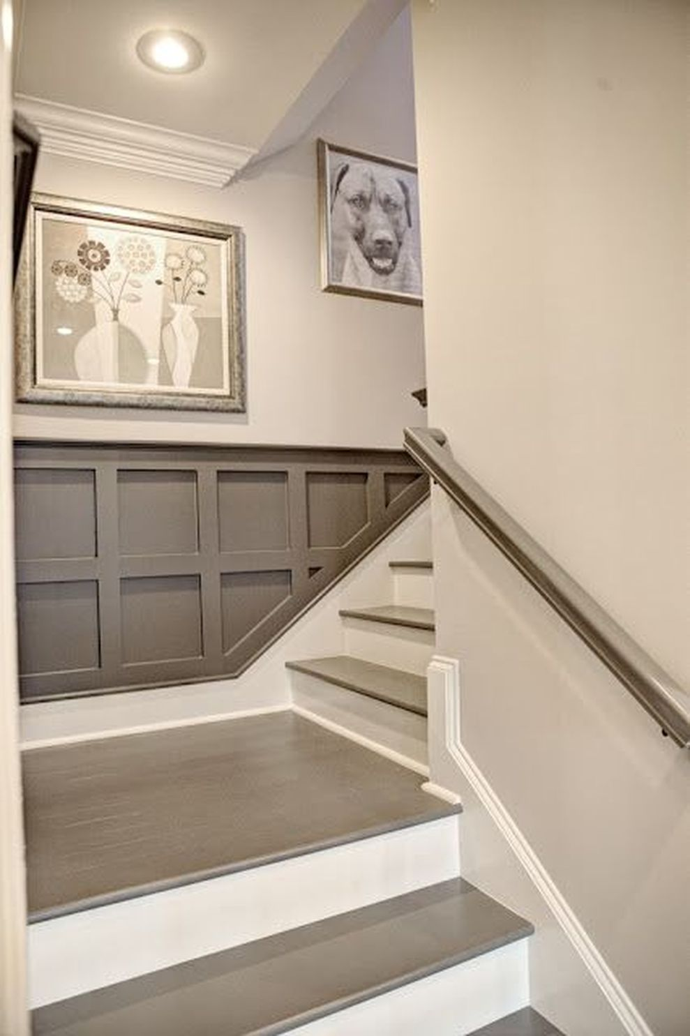 Lighting Basement Washroom Stairs: 90+ Beautiful Bedroom Design Ideas Using Grey Carpet