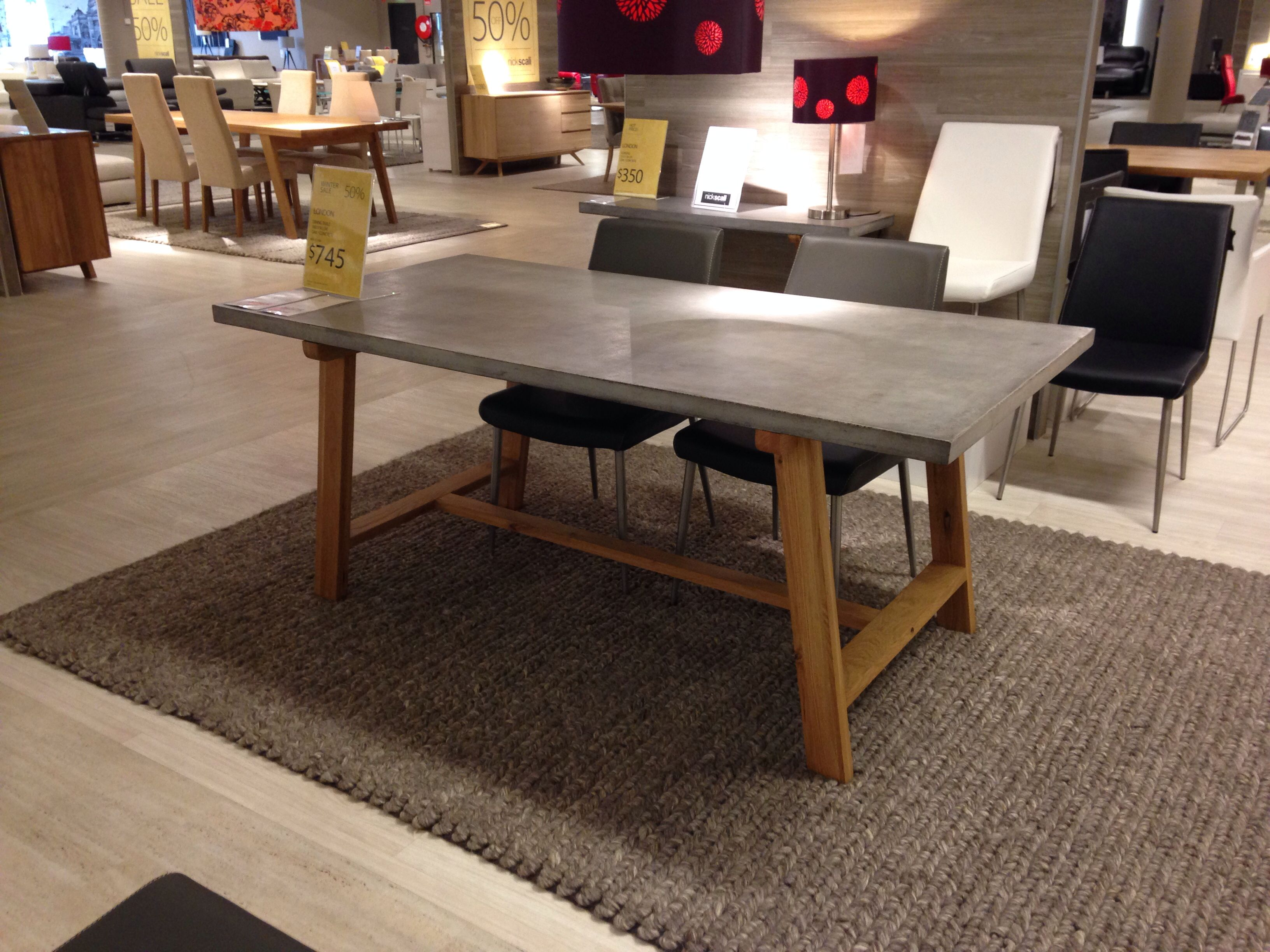 London Dining Table From Nick Scali