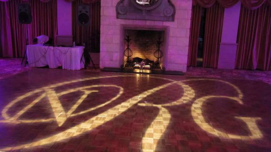 Barton Creek Country Club Wedding. Purple uplighting
