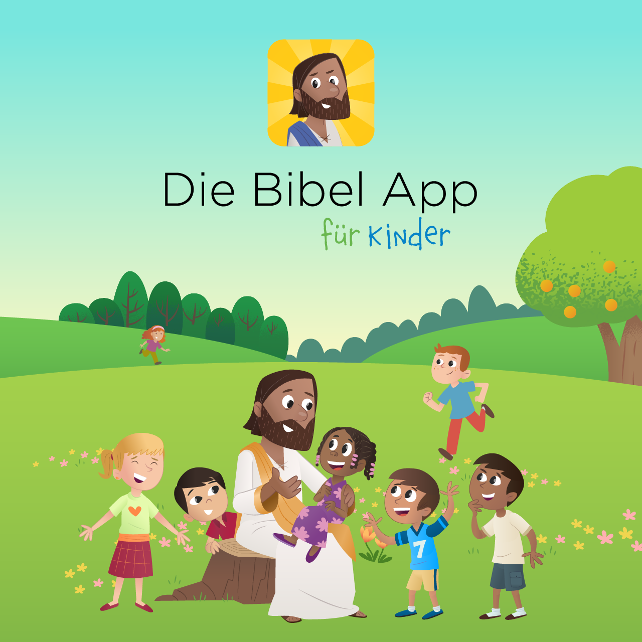 The Bible App for Kids is Now Available in German Bible