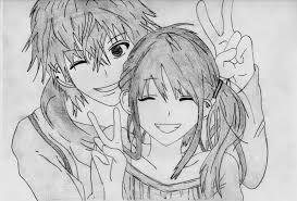 Couple Drawing Chibi