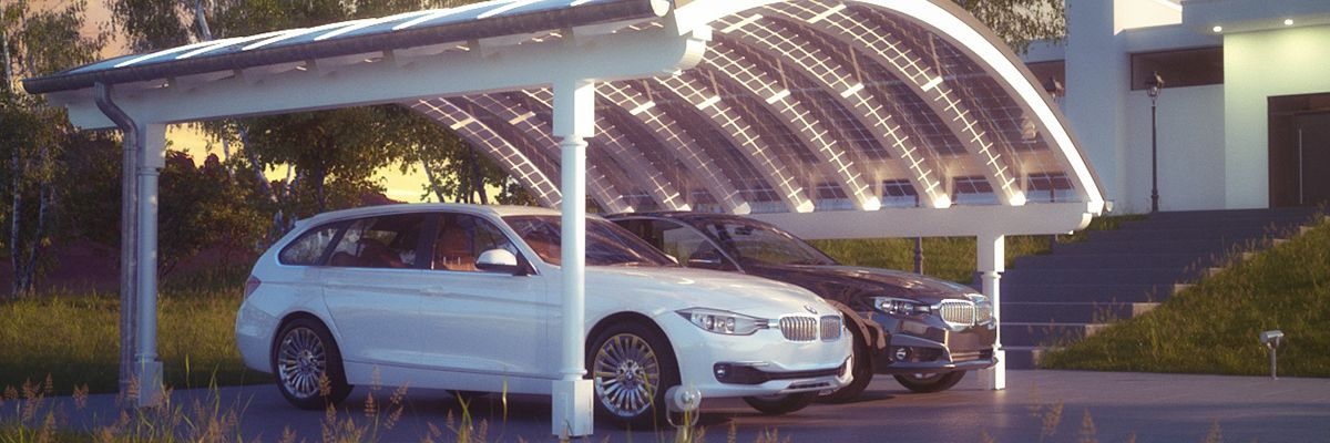 Design Carports Mit Uns Planen Solarterrassen Carportwerk Gmbh Modern House Design Carport House Design