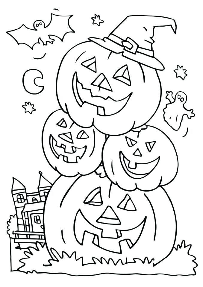 Coloring Pages For Halloween To Print Full Size Printable Halloween Coloring Pages Pumpkin Coloring Pages Halloween Coloring Halloween Coloring Pages Printable