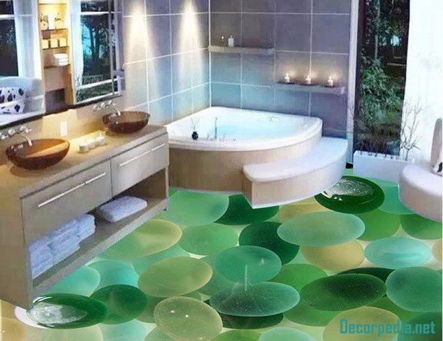3d Badezimmerboden Und Selbstnivellierendes Wandbild 3d Boden Fur Badezimmer 3d Flooring 3d Bodenbelag Badezimmerboden Badezimmer 3d