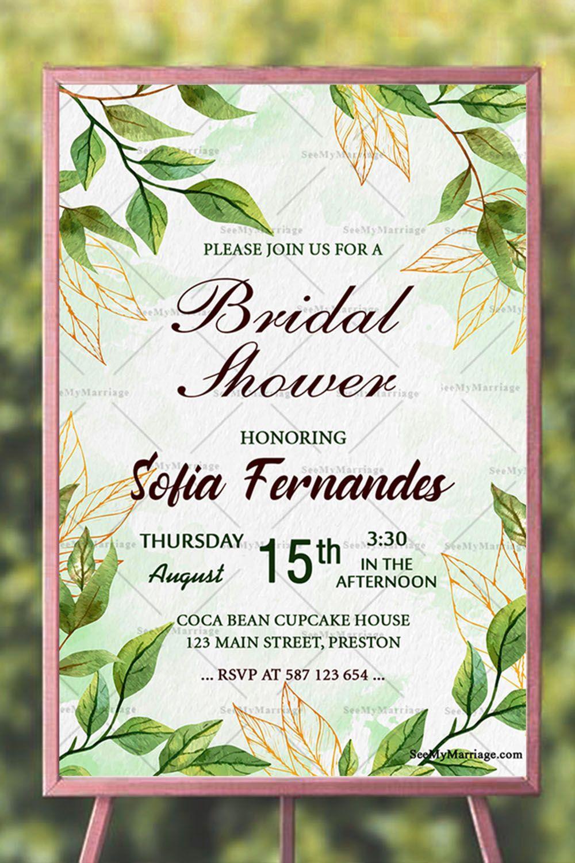 Shower The Bride Virtual Shower Invitation Bridal Shower Invitation Cards Invitations Bridal Shower Invitations