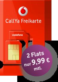 Callya Sim Karte.Vodafone Gibt Wieder Gas Und Verschenkt Die Kostenlose Callya Sim