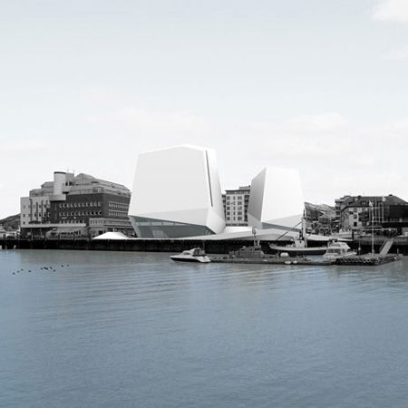 Cultural centre at Bodø, Norway by Langdon Reis Zahn
