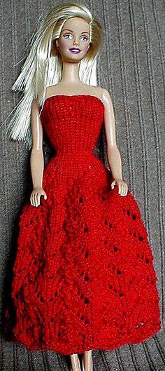 Barbie Dress - free pattern | dolls, dolls, dolls | Pinterest ...