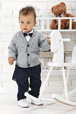 Nr 0ws02 Sehr Schoner Anzug Festanzug Babyanzug Taufanzug Neu Mit Bildern Baby Anzug Kinder Anzug