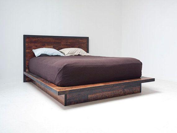 Imahara platform bed   Camas de plataforma, Plataforma y Camas