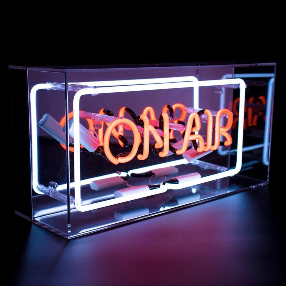 Acrylic Box Neon On Air Box Signs On Air Sign Neon Box