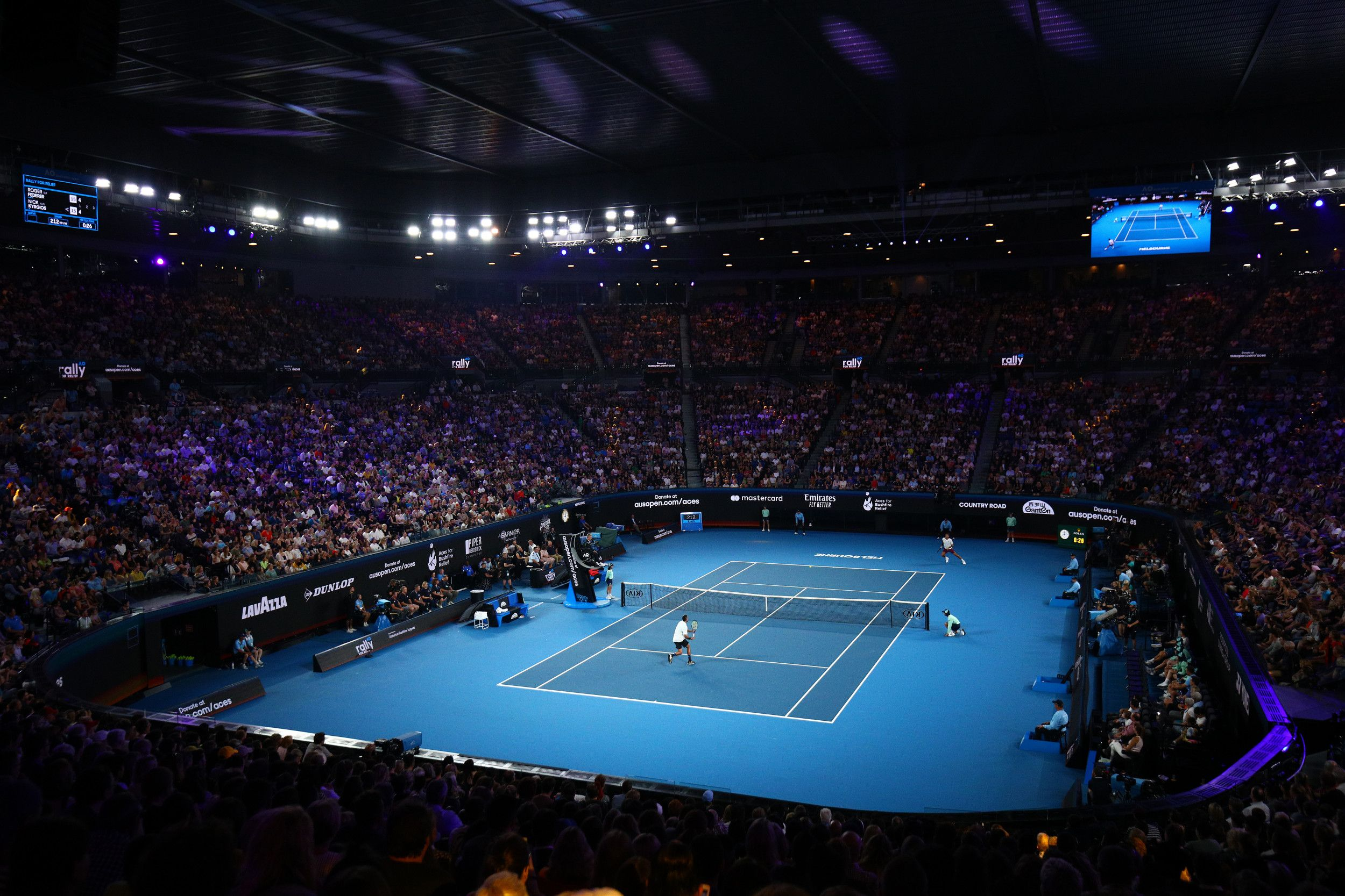 The world's best tennis players in Melbourne, Australia