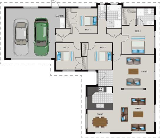 Gj Gardner House Design House Design House Plans House Floor Plans