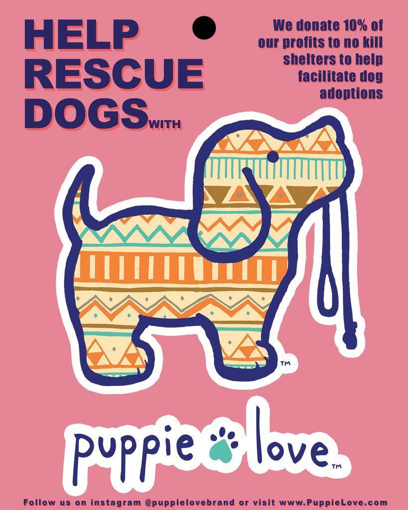 AZTEC PUP STICKER Puppies, Pup, Love stickers