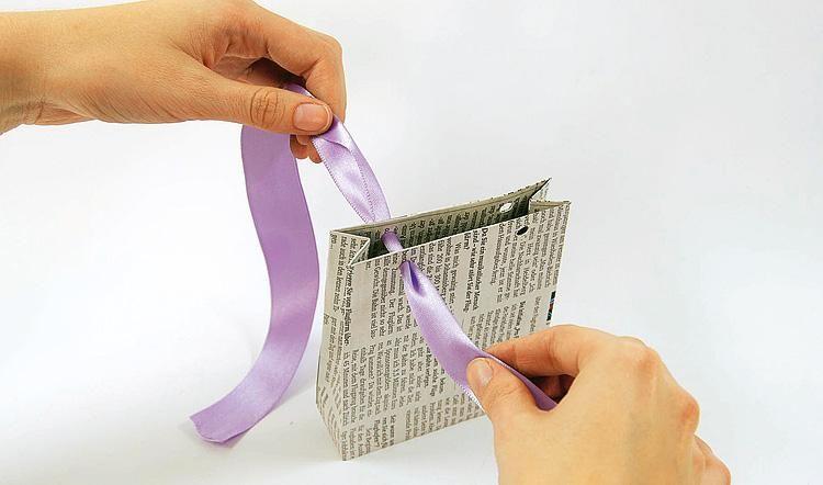 Geschenktüte aus Papier basteln – Boda fotos