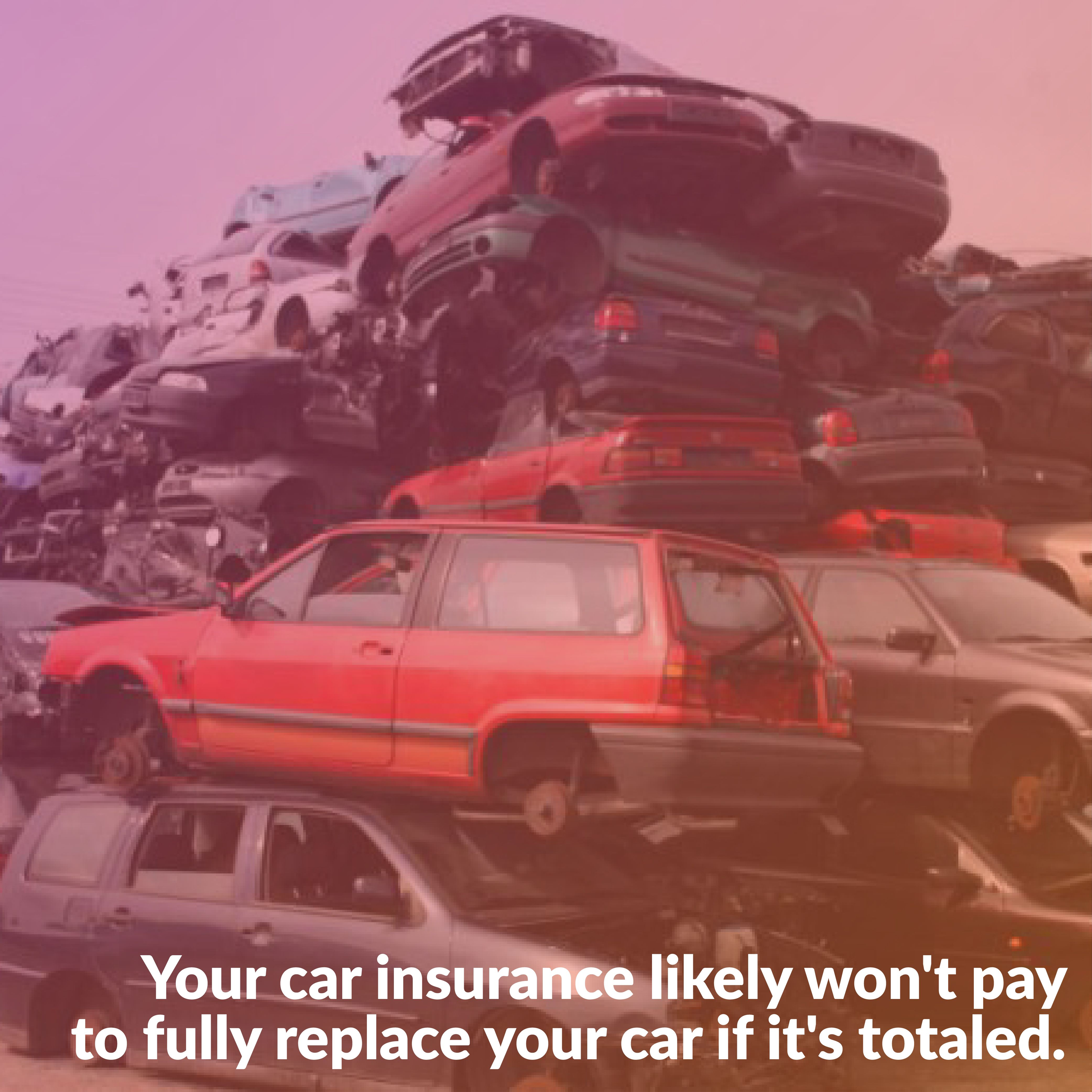 Didyouknow unless you have gapinsurance your insurance