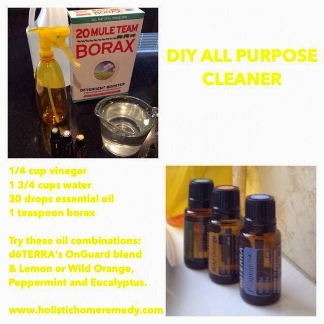 Holistic Home Remedies: DIY All Purpose Cleaner www.holistichomeremedy.com #naturalsolutions #cleaning #essentialoils #doterra #home #holistic #natural