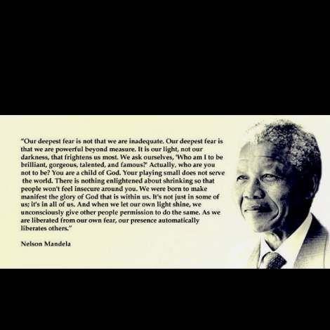 Famous Quotes About Fear Nelson Mandela Famous Quotes  Qυσтєѕ  Pinterest  Nelson Mandela .